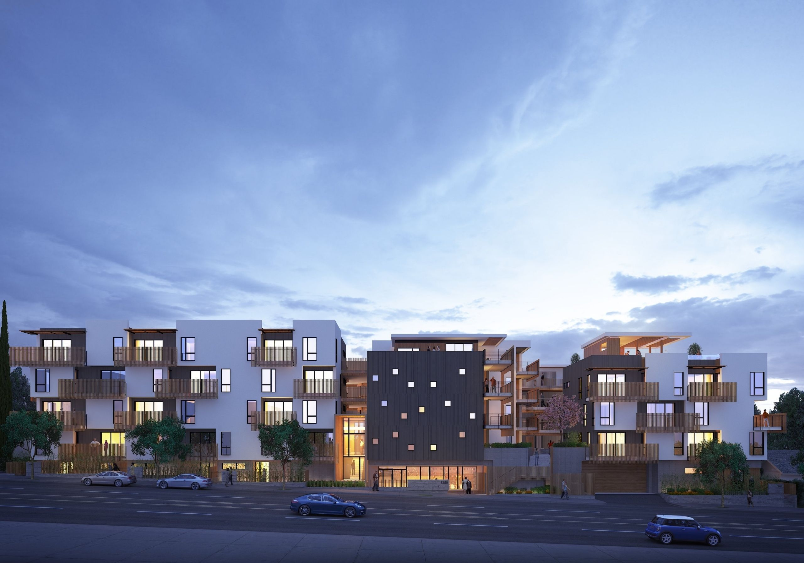 The Fitz Apartments - Gallery Exterior
